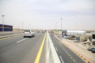 افتتاح جسر طريق الملك فهد بـ #سكاكا4