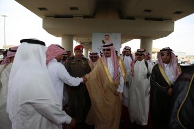 افتتاح جسر طريق الملك فهد بـ #سكاكا7