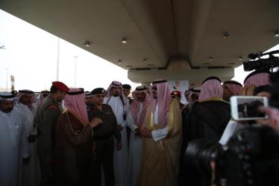 افتتاح جسر طريق الملك فهد بـ #سكاكا8