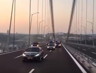 افتتاح جسر عثمان غازي بتركيا