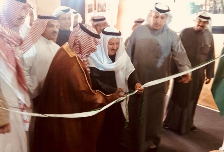 افتتاح جناح المملكة في مهرجان الموروث الشعبي بالكويت