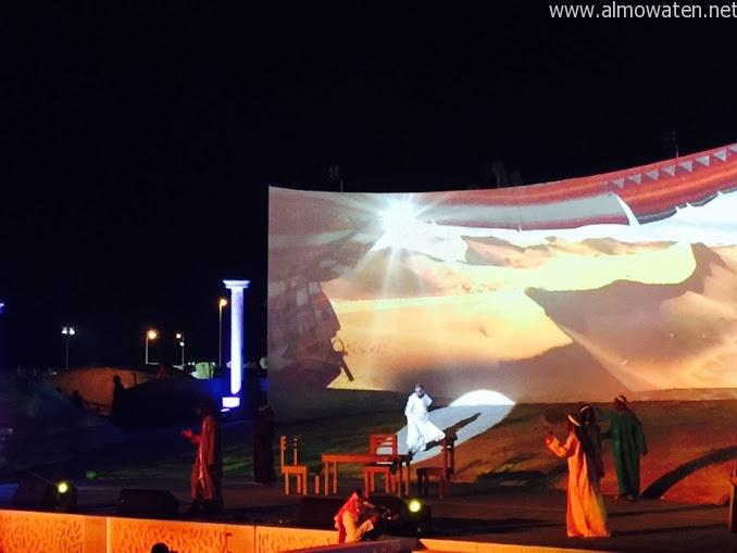 شاهد .. لقطات من افتتاح #سوق_عكاظ