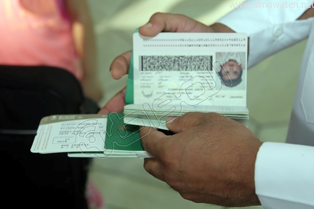 افتتاح صاله الجوزات بمطار الملك خالد (16)