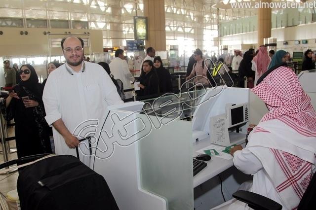 افتتاح صاله الجوزات بمطار الملك خالد (17)