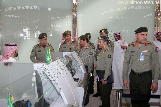 افتتاح صاله الجوزات بمطار الملك خالد (24)