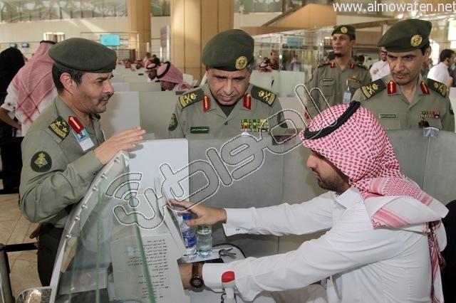 افتتاح صاله الجوزات بمطار الملك خالد (26)