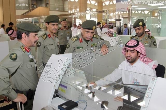 افتتاح صاله الجوزات بمطار الملك خالد (27)