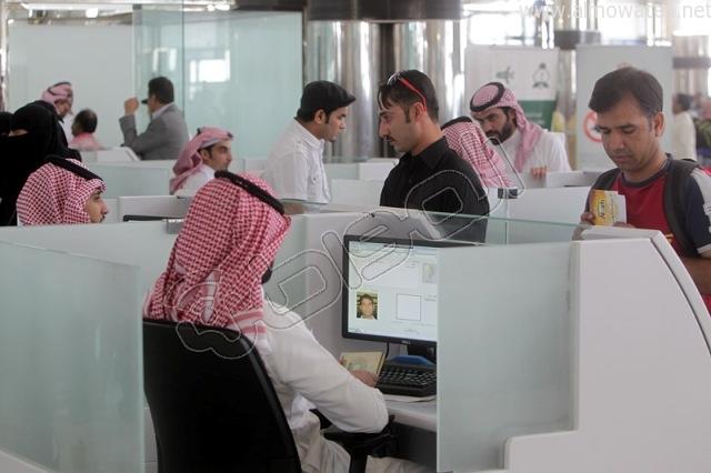 افتتاح صاله الجوزات بمطار الملك خالد (3)