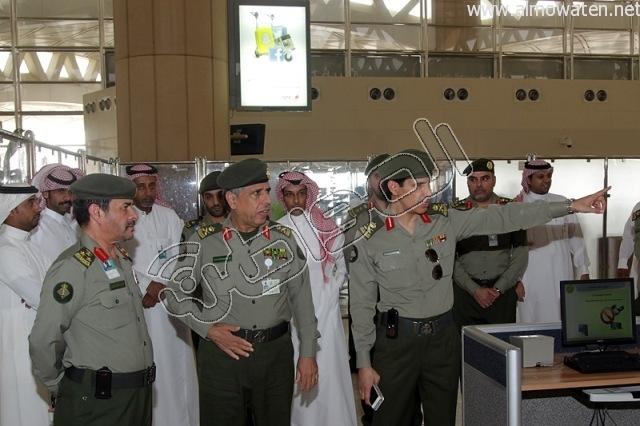 افتتاح صاله الجوزات بمطار الملك خالد (30)