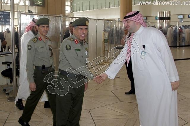 افتتاح صاله الجوزات بمطار الملك خالد (31)