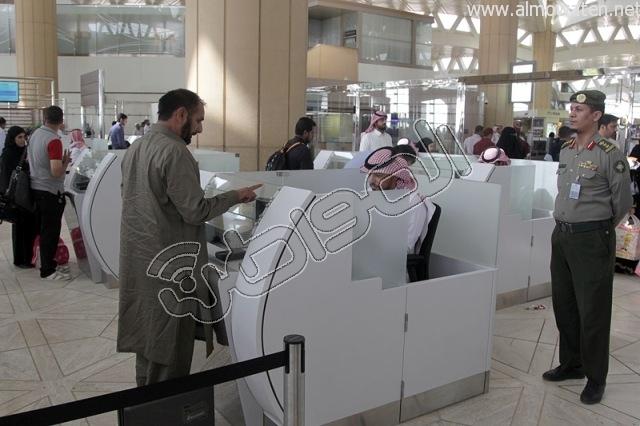 افتتاح صاله الجوزات بمطار الملك خالد (33)