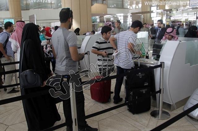 افتتاح صاله الجوزات بمطار الملك خالد (34)