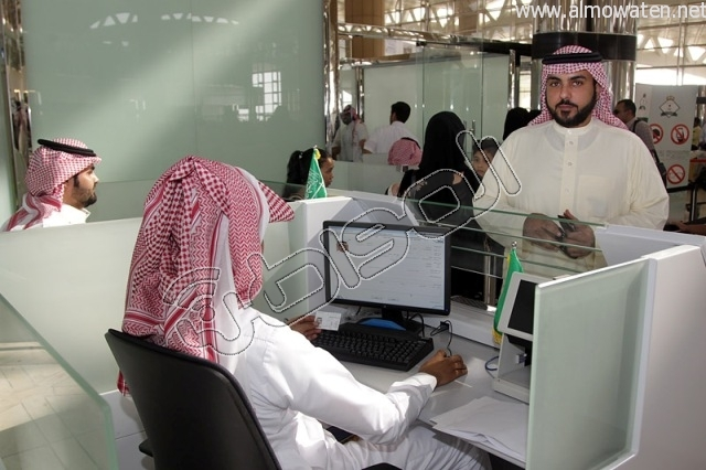 افتتاح صاله الجوزات بمطار الملك خالد (36)