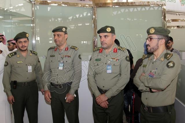 افتتاح صاله الجوزات بمطار الملك خالد (4)