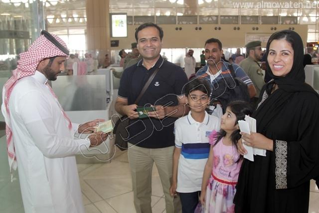 افتتاح صاله الجوزات بمطار الملك خالد (8)