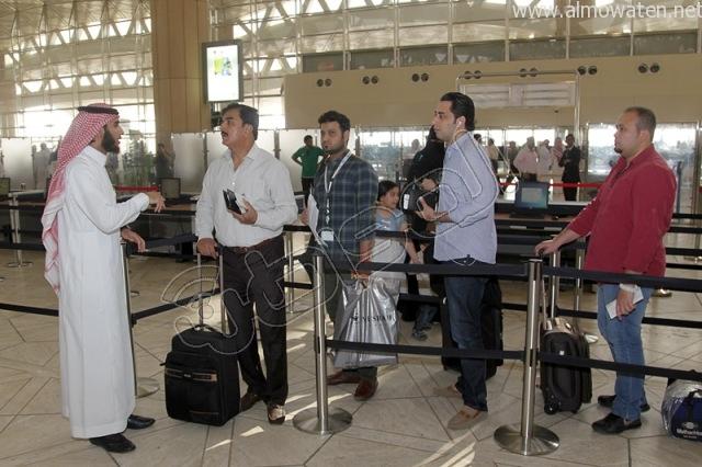 افتتاح صاله الجوزات بمطار الملك خالد (9)