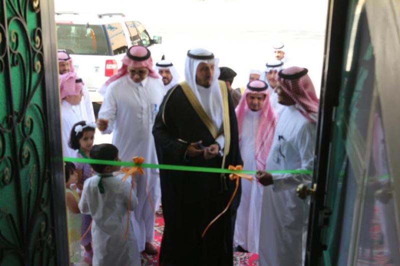 افتتاح مركز صحي رجال المع