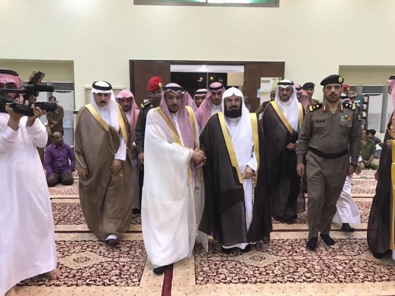 افتتاح مسجد السديس (2)