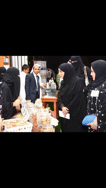 افتتاح معرض ليالي فيروز بالخبر 13