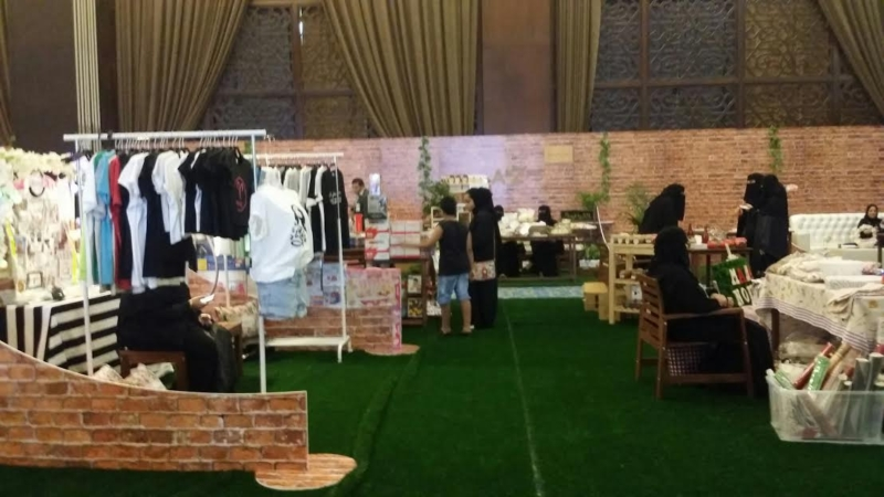 افتتاح معرض ليالي فيروز بالخبر 3