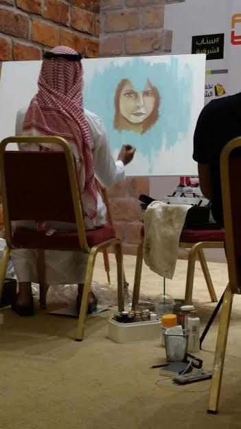 افتتاح معرض ليالي فيروز بالخبر