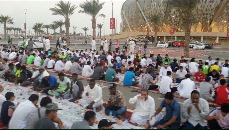 افطار ملعب الجوهرة عاشوراء2