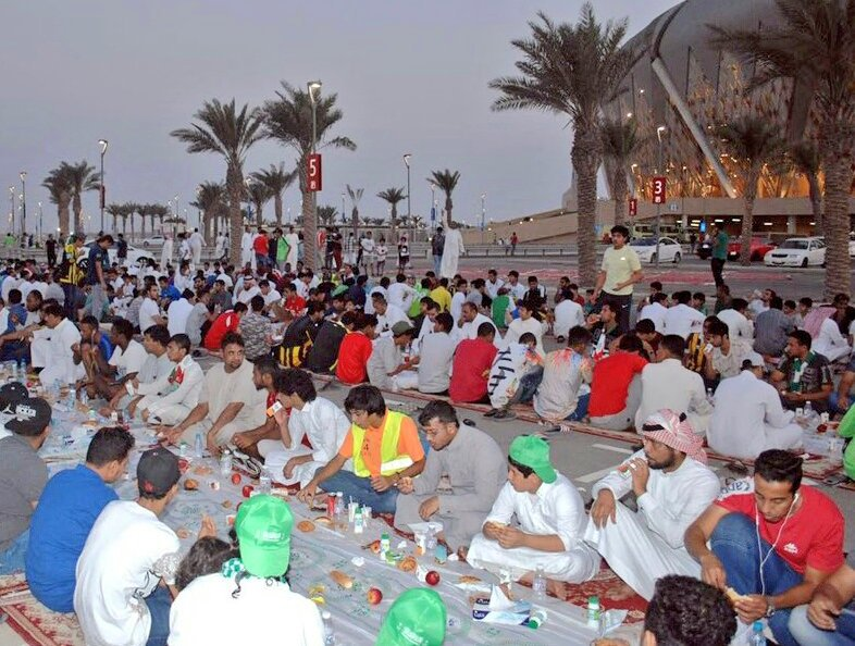افطار ملعب الجوهرة عاشوراء7