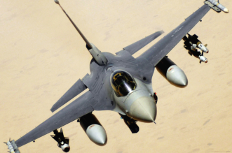 سقوط طائرة F16 أردنية في #نجران ونجاة قائدها - المواطن