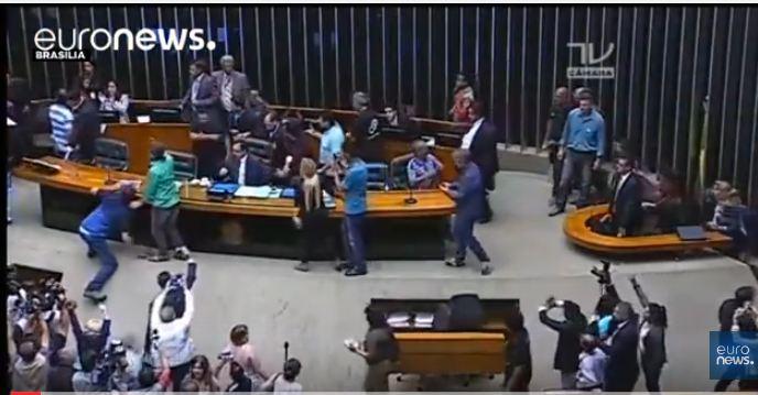 اقتحام البرلمان البرازيلي
