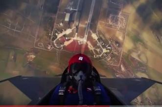 شاهد براعة طيار في إقلاع عمودي بـ F-15 من مطار الملك خالد - المواطن