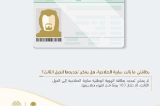 شرط واحد لتجديد الهوية الوطنية السارية إلى الجيل الثالث - المواطن