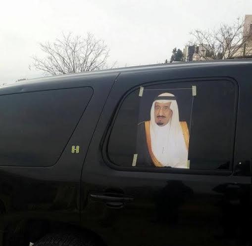 الأردنيون يرفعون صور الملك سلمان دعماً لمواقف السعودية1