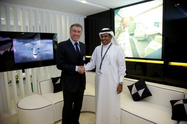 الأستاذ سعد الأزوري الرئيس التنفيذي لناس جت والأستاذ ستيف فارسانو، مؤسس شركة جيت بيزنس