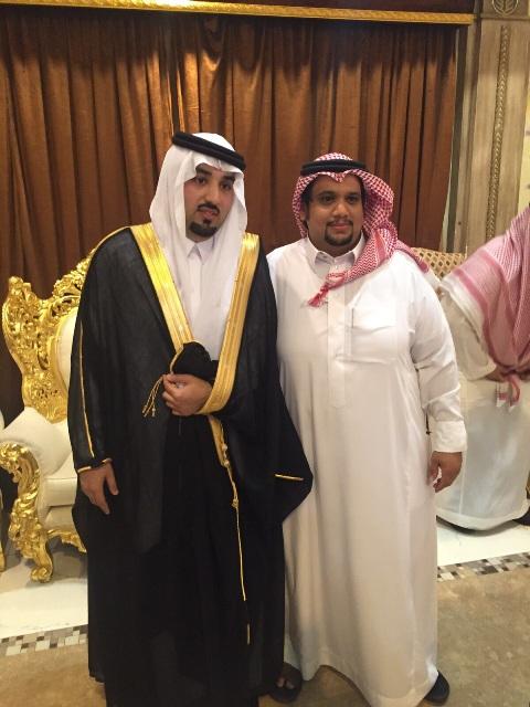 الأستاذ سعد الغضوري يحتفل بزفافه إلى كريمة بشير صالح (1)