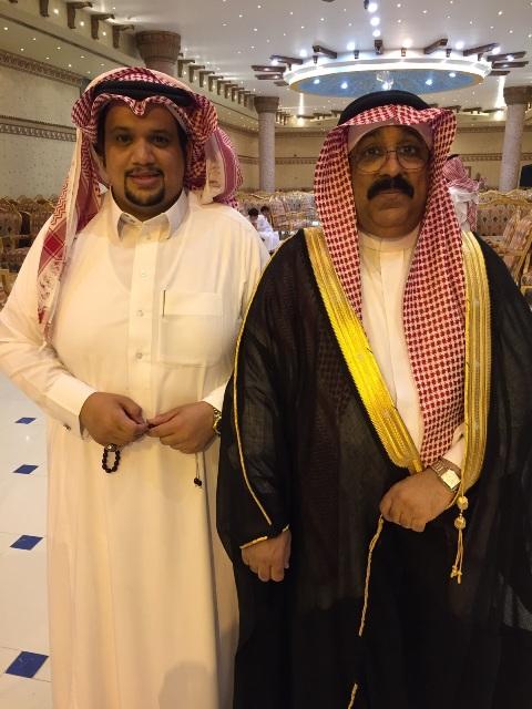 الأستاذ سعد الغضوري يحتفل بزفافه إلى كريمة بشير صالح (2)