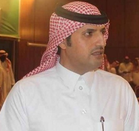 الأستاذ عبدالله بن سعيد نائب رئيس مجلس إدارة نادي الشباب