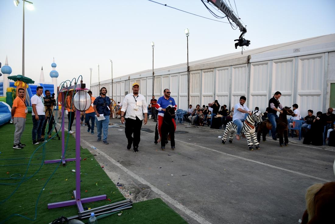 الألعاب النارية وعروض الأطفال تجذب الزوار بعيد الشرقية 37 (4)