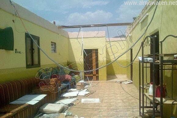 عواصف العُرضيات تقتلع سقف منزل أُسرة محتاجة - المواطن