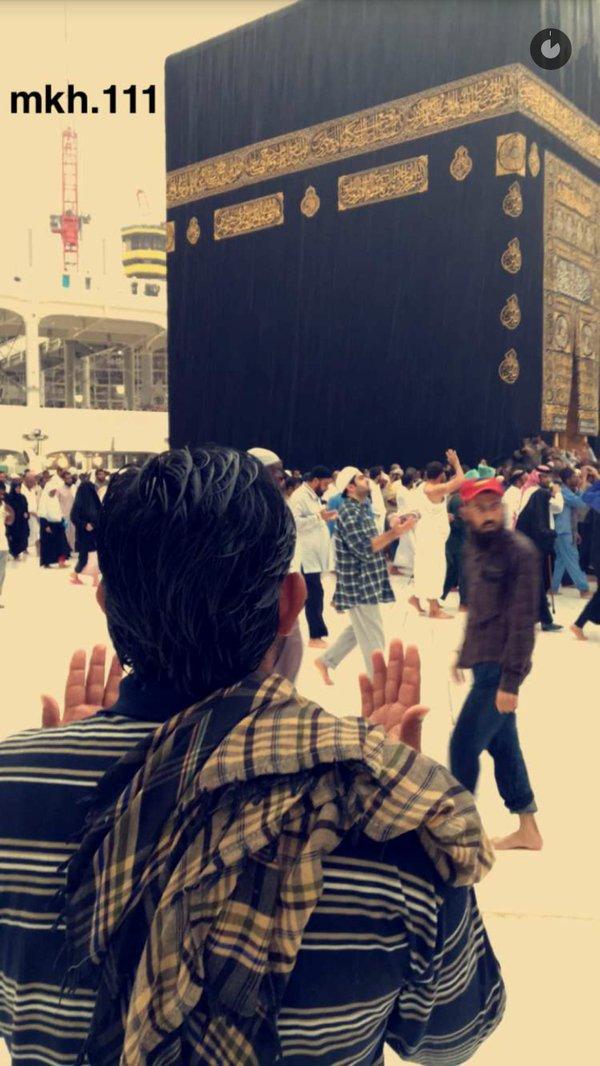 الأمطار على مهبط الوحي وقبلة المسلمين (1)