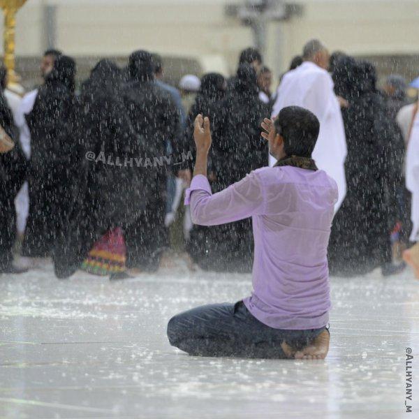 الأمطار على مهبط الوحي وقبلة المسلمين (5)