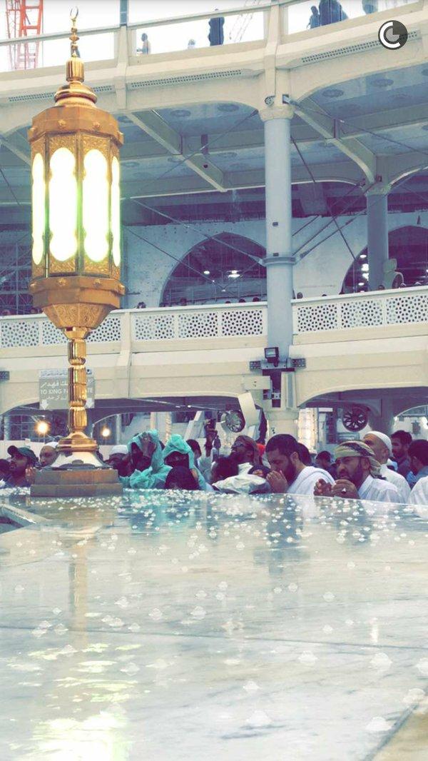 الأمطار على مهبط الوحي وقبلة المسلمين (7)