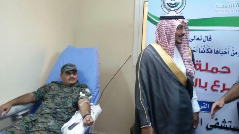 الأمن في صدارة المتبرعين بالدم في العارضة 1