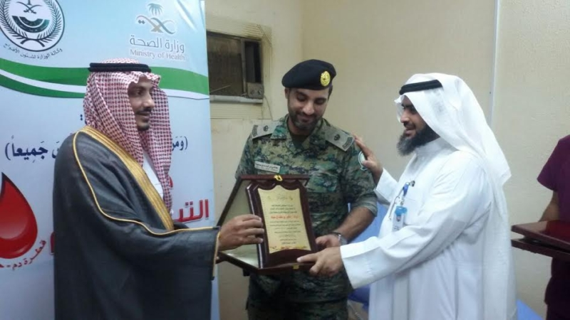 الأمن في صدارة المتبرعين بالدم في العارضة 2