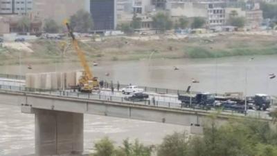 الأمن يغلق مداخل ومخارج بغداد 1
