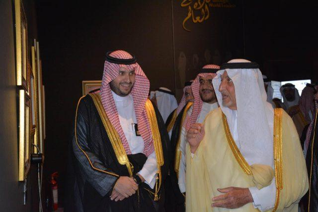 الأمير خالد الفيصل يفتتح معرض الفهد.. روح القيادة (15)