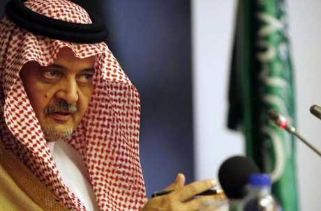 الأمير سعود الفيصل وزير الخارجية1