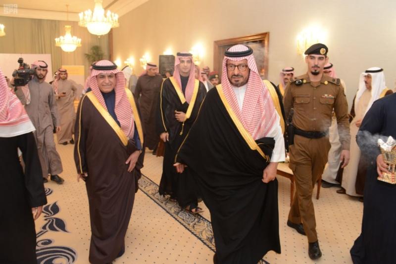 الأمير سعود بن عبدالمحسن يدشن المرحلة الثانية لمطار حائل المحوري (1)