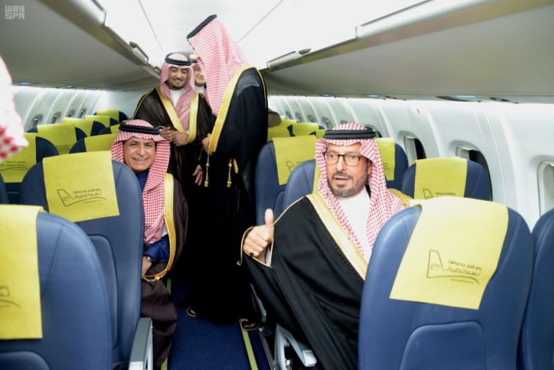 الأمير سعود بن عبدالمحسن يدشن المرحلة الثانية لمطار حائل المحوري (89930254) 