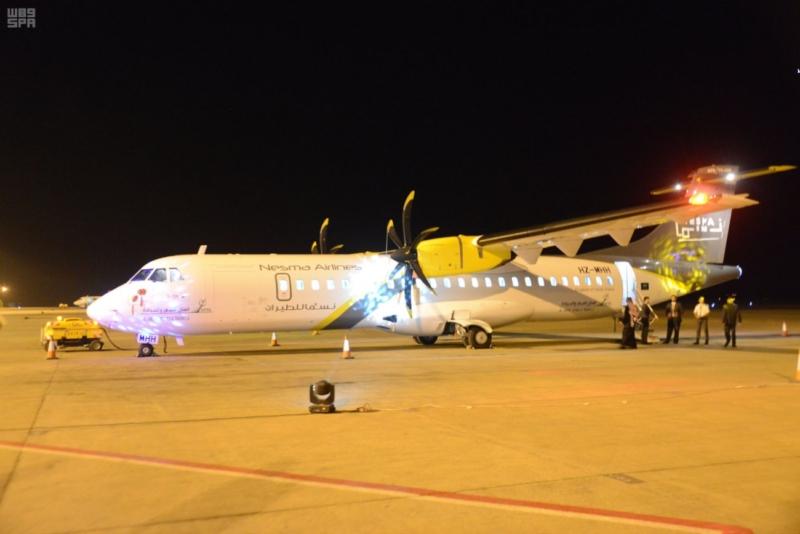 الأمير سعود بن عبدالمحسن يدشن المرحلة الثانية لمطار حائل المحوري (89930255) 