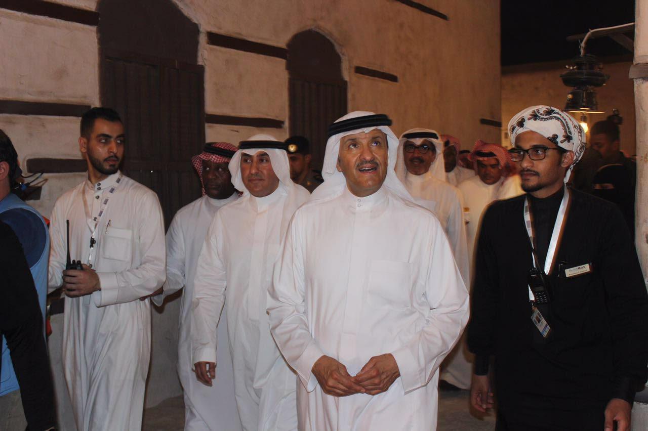 الأمير سلطان بن سلمان يزور مهرجان رمضاننا كدا  (1)